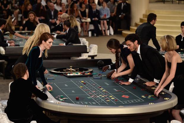 Chanel casino table