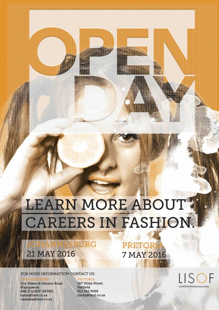 Open Day May 16 Poster 2