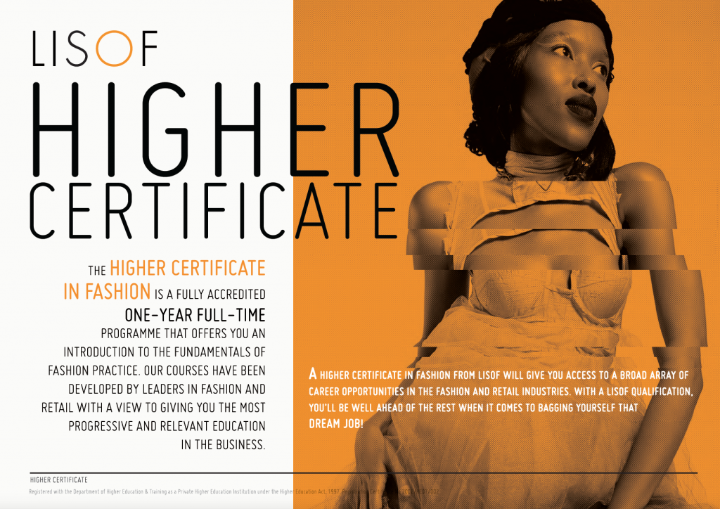 Higher Certificate Front Cover