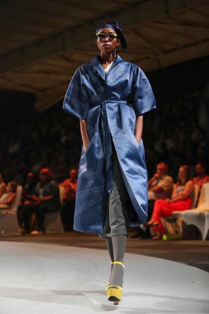 Thebe Magugu, 3rd Year Range 2014 at the LISOF Opel Adam Fashion Show